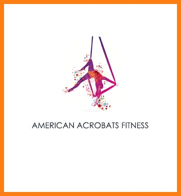 American Acrobats Performing Arts and Fitness logo