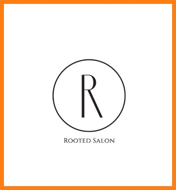 Rooted Salon logo